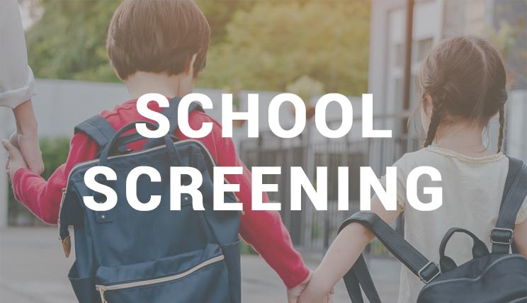 Access the page for the school screening device audioschool